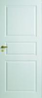 Белые филенчатые двери
