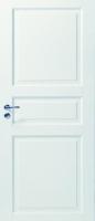 Белые массивные двери