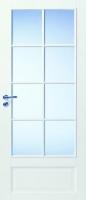 Массивные 4-х филенчатые двери