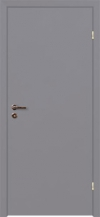 Крашеные двери, цвет серый