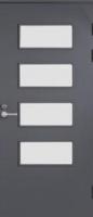 ВХОДНАЯ ДВЕРЬ JELD-WEN FUNCTION F2090 W55 СО СТЕКЛОМ COSTWOLD, ГЛАДКАЯ С ОБЕИХ СТОРОН