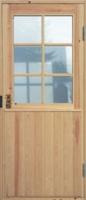 Входная дверь Edux Klaara с сосновой поверхностью