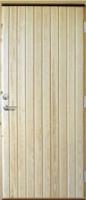 Входная дверь EDUX Pekka с сосновой поверхностью