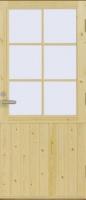 Входная дверь Fenestra FE-UO2/X (UO2/X) с сосновой поверхностью