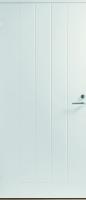 Входная дверь Jeld-Wen Basic 010 с фрезерованной внешней стороной и гладкой внутренней