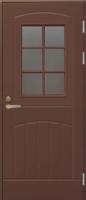 Входная дверь JELD-WEN F2000 W71 коричневая